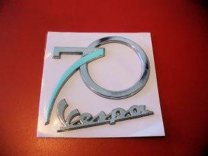 画像2: VESPA 純正 70周年記念 マグネット & ステッカー セット