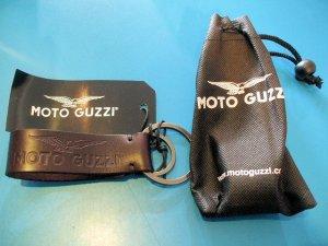 画像1: MOTOGUZZI レザー・キーリング